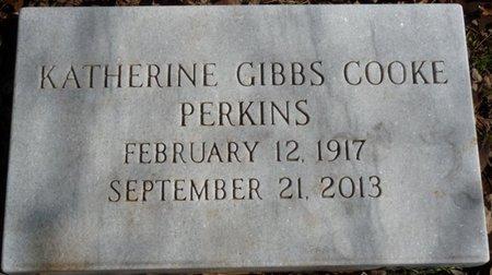 COOKE PERKINS, KATHERINE GIBBS - Colbert County, Alabama | KATHERINE GIBBS COOKE PERKINS - Alabama Gravestone Photos