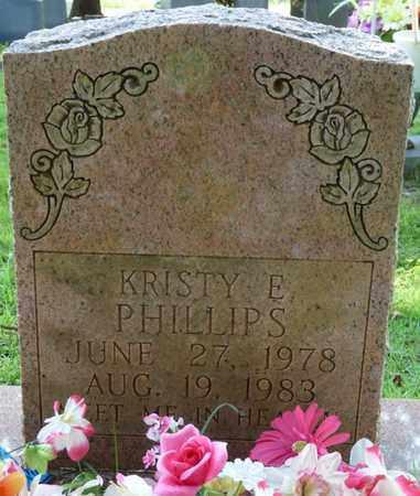 PHILLIPS, KRISTY E - Colbert County, Alabama | KRISTY E PHILLIPS - Alabama Gravestone Photos