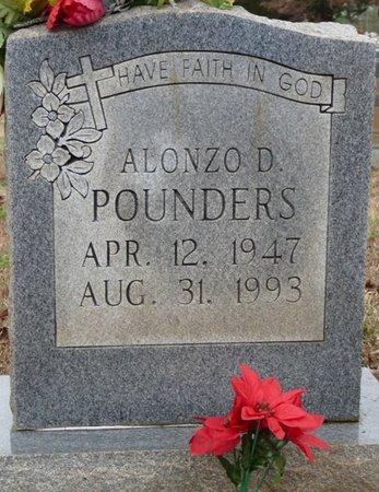 POUNDERS, ALONZO D - Colbert County, Alabama | ALONZO D POUNDERS - Alabama Gravestone Photos