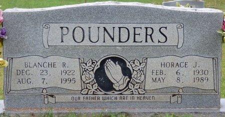 POUNDERS, HORACE J - Colbert County, Alabama   HORACE J POUNDERS - Alabama Gravestone Photos