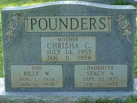 POUNDERS, BILLY W - Colbert County, Alabama   BILLY W POUNDERS - Alabama Gravestone Photos