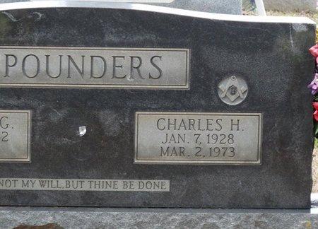 POUNDERS, CHARLES H - Colbert County, Alabama | CHARLES H POUNDERS - Alabama Gravestone Photos