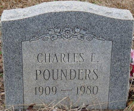 POUNDERS, CHARLES EDWARD - Colbert County, Alabama | CHARLES EDWARD POUNDERS - Alabama Gravestone Photos