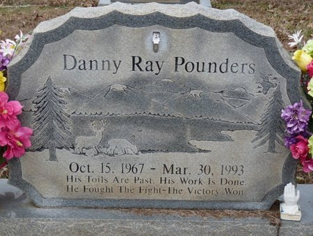 POUNDERS, DANNY RAY - Colbert County, Alabama | DANNY RAY POUNDERS - Alabama Gravestone Photos