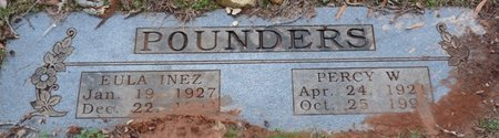 POUNDERS, PERCY WILLIAM - Colbert County, Alabama | PERCY WILLIAM POUNDERS - Alabama Gravestone Photos