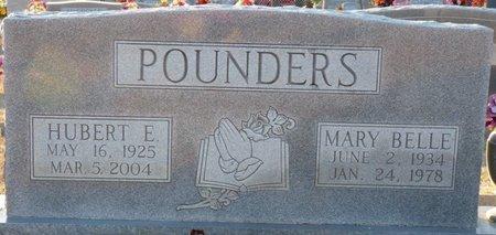 POUNDERS, HUBERT E - Colbert County, Alabama   HUBERT E POUNDERS - Alabama Gravestone Photos