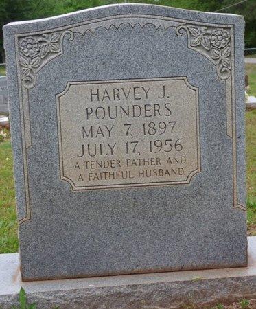 POUNDERS, HARVEY J - Colbert County, Alabama | HARVEY J POUNDERS - Alabama Gravestone Photos