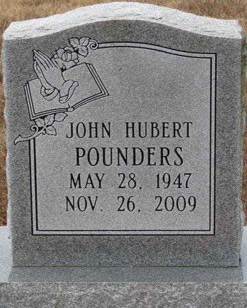 POUNDERS, JOHN HUBERT - Colbert County, Alabama   JOHN HUBERT POUNDERS - Alabama Gravestone Photos