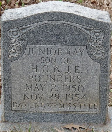 POUNDERS, JUNIOR RAY - Colbert County, Alabama | JUNIOR RAY POUNDERS - Alabama Gravestone Photos