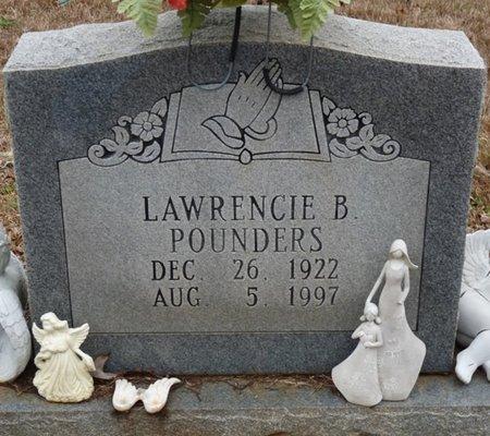 POUNDERS, LAWRENCIE LULA - Colbert County, Alabama   LAWRENCIE LULA POUNDERS - Alabama Gravestone Photos