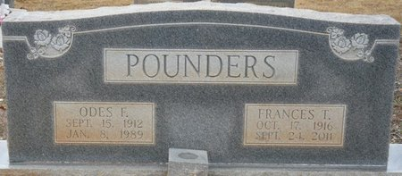 TAPP POUNDERS, FRANCES MARIE - Colbert County, Alabama   FRANCES MARIE TAPP POUNDERS - Alabama Gravestone Photos