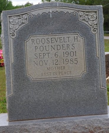 POUNDERS, ROOSEVELT H - Colbert County, Alabama | ROOSEVELT H POUNDERS - Alabama Gravestone Photos