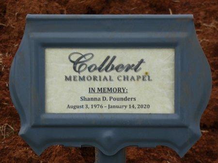 POUNDERS, SHANNA DAWN - Colbert County, Alabama | SHANNA DAWN POUNDERS - Alabama Gravestone Photos