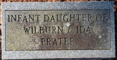 PRATER, INFANT DAUGHTER - Colbert County, Alabama | INFANT DAUGHTER PRATER - Alabama Gravestone Photos