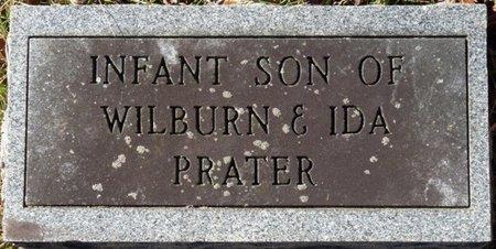 PRATER, INFANT SON - Colbert County, Alabama   INFANT SON PRATER - Alabama Gravestone Photos