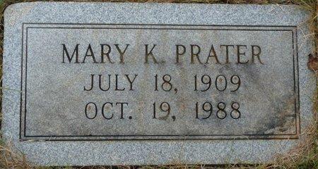 PRATER, MARY THELDA - Colbert County, Alabama | MARY THELDA PRATER - Alabama Gravestone Photos