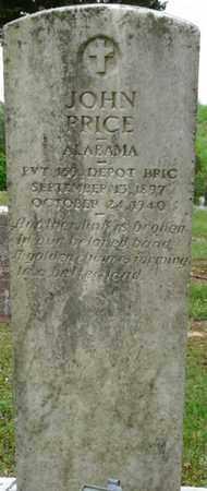 PRICE (VETERAN), JOHN - Colbert County, Alabama   JOHN PRICE (VETERAN) - Alabama Gravestone Photos