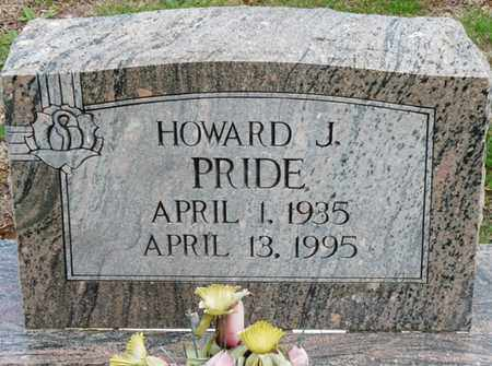 PRIDE, HOWARD J - Colbert County, Alabama | HOWARD J PRIDE - Alabama Gravestone Photos