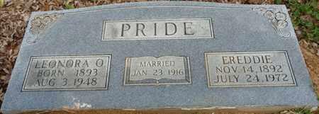 PRIDE, LEONORA O - Colbert County, Alabama | LEONORA O PRIDE - Alabama Gravestone Photos