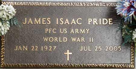 PRIDE (VETERAN WWII), JAMES ISAAC - Colbert County, Alabama | JAMES ISAAC PRIDE (VETERAN WWII) - Alabama Gravestone Photos