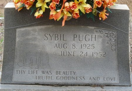 PUGH, SYBIL - Colbert County, Alabama | SYBIL PUGH - Alabama Gravestone Photos