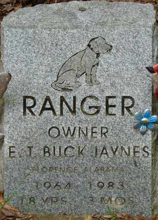 RANGER, - - Colbert County, Alabama | - RANGER - Alabama Gravestone Photos