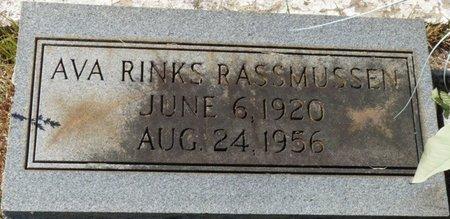 RASSMUSSEN, AVA - Colbert County, Alabama | AVA RASSMUSSEN - Alabama Gravestone Photos