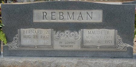 REBMAN, ANNE MAUDE - Colbert County, Alabama | ANNE MAUDE REBMAN - Alabama Gravestone Photos