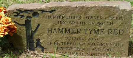 RED, HAMMER TYME - Colbert County, Alabama | HAMMER TYME RED - Alabama Gravestone Photos