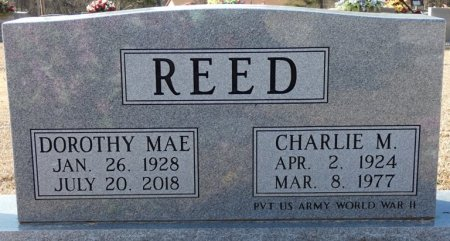 REED, SR, CHARLIE M. - Colbert County, Alabama | CHARLIE M. REED, SR - Alabama Gravestone Photos
