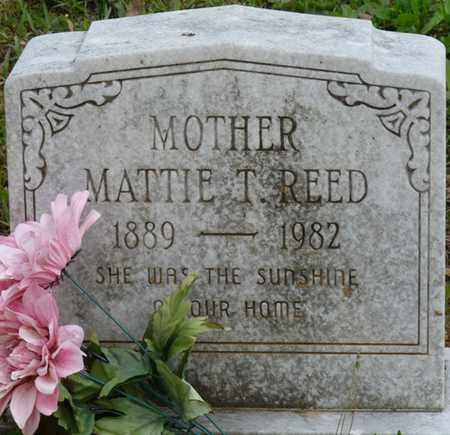 REED, MATTIE T - Colbert County, Alabama | MATTIE T REED - Alabama Gravestone Photos