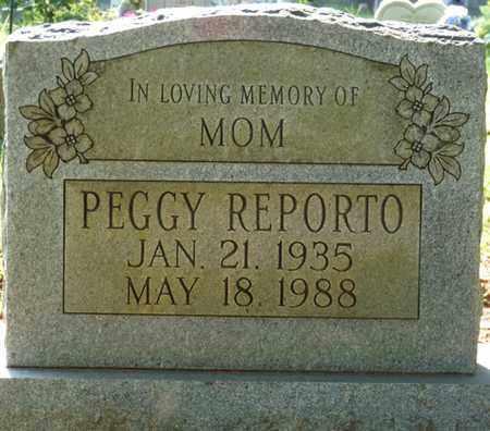 REPORTO, PEGGY - Colbert County, Alabama | PEGGY REPORTO - Alabama Gravestone Photos