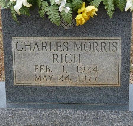 RICH, CHARLES MORRIS - Colbert County, Alabama | CHARLES MORRIS RICH - Alabama Gravestone Photos