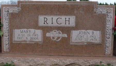 RICH, JOHN B - Colbert County, Alabama | JOHN B RICH - Alabama Gravestone Photos