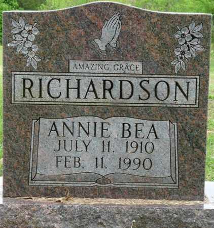 RICHARDSON, ANNIE BEA - Colbert County, Alabama | ANNIE BEA RICHARDSON - Alabama Gravestone Photos