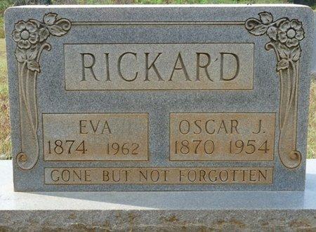 RICKARD, OSCAR J - Colbert County, Alabama | OSCAR J RICKARD - Alabama Gravestone Photos