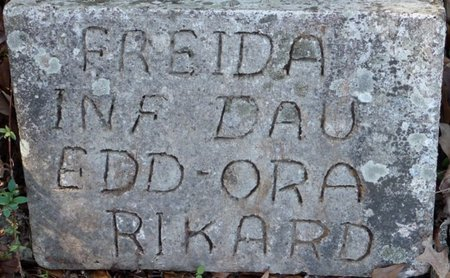 RIKARD, FREIDA - Colbert County, Alabama | FREIDA RIKARD - Alabama Gravestone Photos