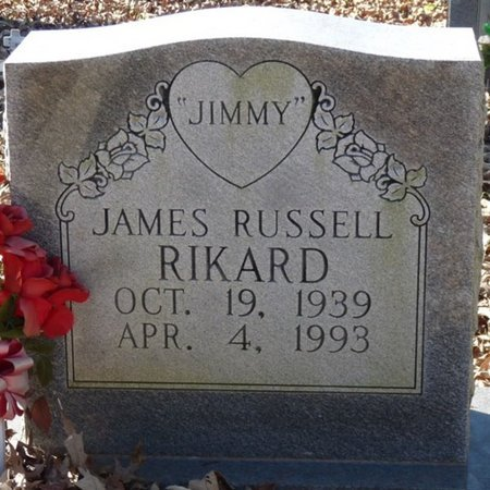 RIKARD, JAMES RUSSELL - Colbert County, Alabama | JAMES RUSSELL RIKARD - Alabama Gravestone Photos