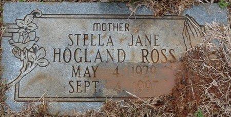 ROSS, STELLA JANE - Colbert County, Alabama | STELLA JANE ROSS - Alabama Gravestone Photos