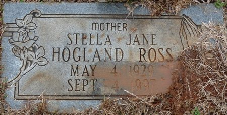 DOWDY ROSS, STELLA JANE - Colbert County, Alabama | STELLA JANE DOWDY ROSS - Alabama Gravestone Photos