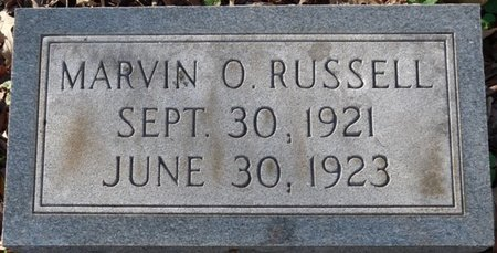RUSSELL, MARVIN O - Colbert County, Alabama | MARVIN O RUSSELL - Alabama Gravestone Photos