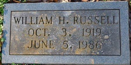 RUSSELL, WILLIAM H - Colbert County, Alabama | WILLIAM H RUSSELL - Alabama Gravestone Photos