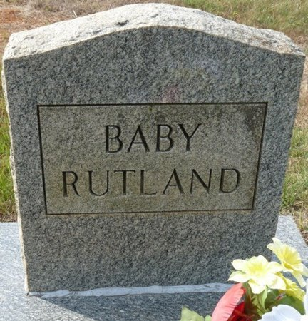 RUTAND, INFANT - Colbert County, Alabama | INFANT RUTAND - Alabama Gravestone Photos