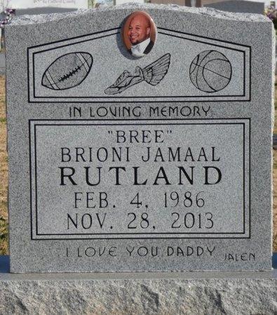 "RUTLAND, BRIONI JAMAAL ""BREE"" - Colbert County, Alabama | BRIONI JAMAAL ""BREE"" RUTLAND - Alabama Gravestone Photos"