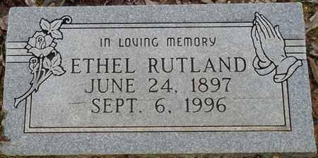 RUTLAND, ETHEL - Colbert County, Alabama | ETHEL RUTLAND - Alabama Gravestone Photos