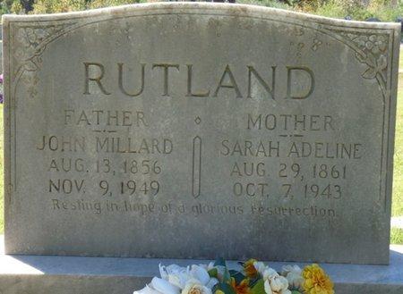RUTLAND, SARAH ADELINE - Colbert County, Alabama | SARAH ADELINE RUTLAND - Alabama Gravestone Photos