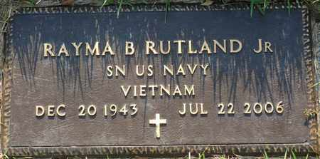 RUTLAND JR. (VETERAN VIETNAM), RAYMA B - Colbert County, Alabama   RAYMA B RUTLAND JR. (VETERAN VIETNAM) - Alabama Gravestone Photos