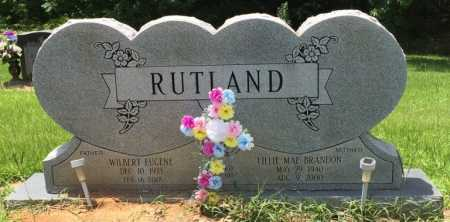 RUTLAND, LILLIE MAE - Colbert County, Alabama | LILLIE MAE RUTLAND - Alabama Gravestone Photos