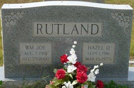 RUTLAND, HAZEL D - Colbert County, Alabama | HAZEL D RUTLAND - Alabama Gravestone Photos
