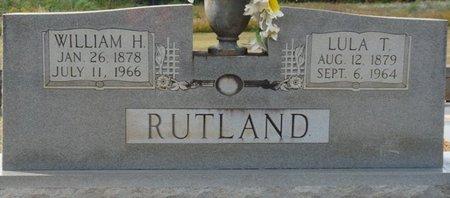RUTLAND, WILLIAM H - Colbert County, Alabama | WILLIAM H RUTLAND - Alabama Gravestone Photos